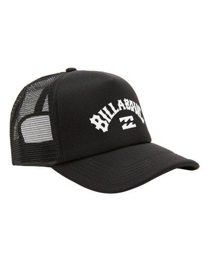 2 Boys' Podium Trucker Hat Black ABBHA00121 Billabong