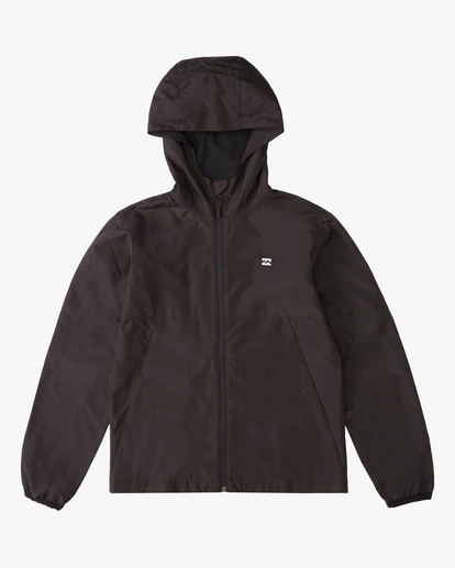 0 Boy's Transport Windbreaker Black ABBJK00100 Billabong