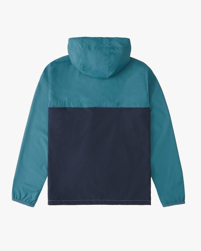 1 Boys 8-16 Transport Windbreaker Jacket Orange ABBJK00100 Billabong