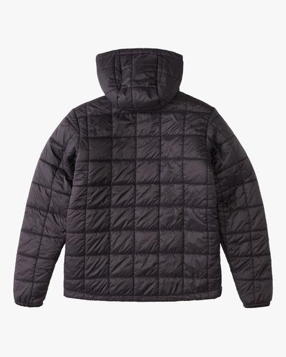 1 Journey Hooded Zip-Up Puffer Jacket  ABBJK00103 Billabong