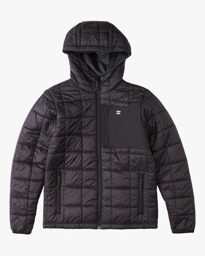 0 Journey Hooded Zip-Up Puffer Jacket  ABBJK00103 Billabong