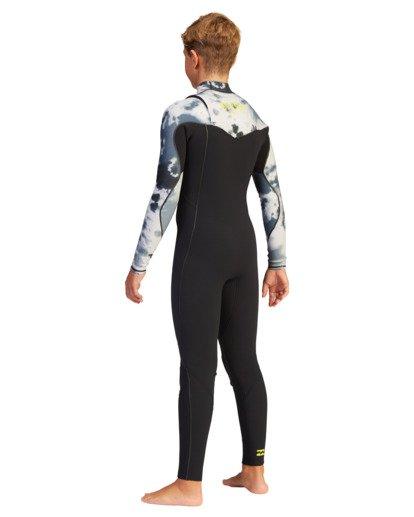 3 Boys' 3/2 Furnace Comp Chest Zip Full Wetsuit  ABBW100101 Billabong