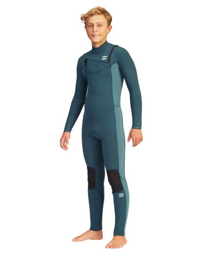 0 Boys' 3/2 Revolution Full Wetsuit  ABBW100103 Billabong