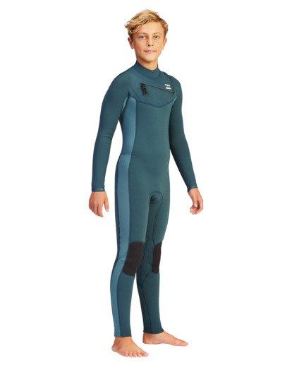 5 Boys' 3/2 Revolution Full Wetsuit  ABBW100103 Billabong