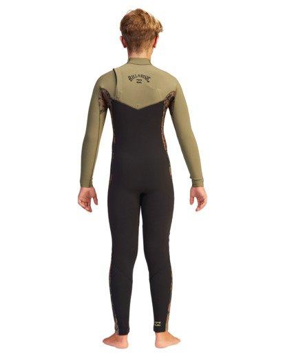 1 Boys' 4/3 Revolution Full Wetsuit  ABBW100104 Billabong