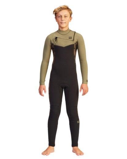 2 Boys' 4/3 Revolution Full Wetsuit  ABBW100104 Billabong