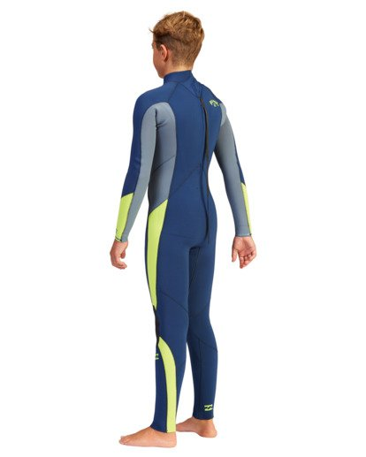 3 Boys' 3/2 Absolute Back Zip Full Wetsuit  ABBW100109 Billabong