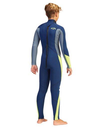 4 Boys' 3/2 Absolute Back Zip Full Wetsuit  ABBW100109 Billabong