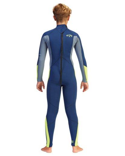 1 Boys' 4/3 Absolute Back Zip Full Wetsuit  ABBW100110 Billabong