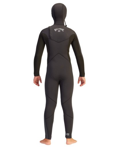 1 5/4 Boys' Absolute Hooded Full Wetsuit  ABBW200100 Billabong