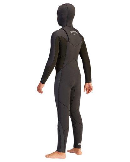3 5/4 Boys' Absolute Hooded Full Wetsuit  ABBW200100 Billabong