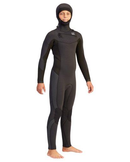 5 5/4 Boys' Absolute Hooded Full Wetsuit  ABBW200100 Billabong