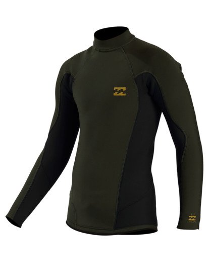 0 2/2 Boy's Absolute Long Sleeve Jacket  ABBW800101 Billabong