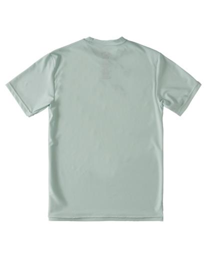 1 Boys' Lounge Loose Fit Short Sleeve Rashguard Multicolor ABBWR00104 Billabong