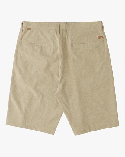 1 Boys' Crossfire Shorts Beige ABBWS00100 Billabong