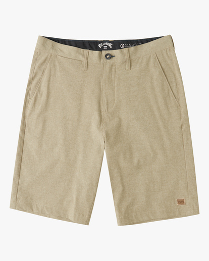 0 Boys' Crossfire Shorts Beige ABBWS00100 Billabong