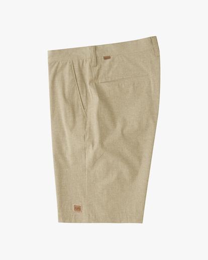 2 Boys' Crossfire Shorts Beige ABBWS00100 Billabong