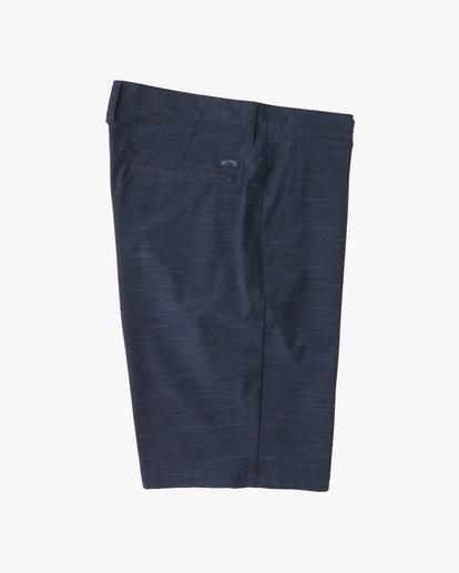 3 Boys' Crossfire Slub Shorts Blue ABBWS00101 Billabong