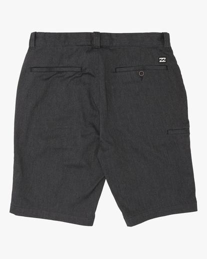 1 Boys' Carter Stretch Shorts Black ABBWS00107 Billabong