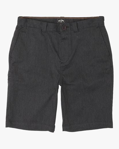 0 Boys' Carter Stretch Shorts Black ABBWS00107 Billabong