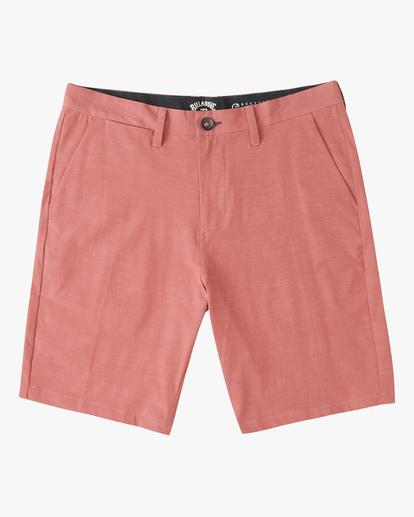 0 Boys' New Order Slub Shorts Green ABBWS00113 Billabong