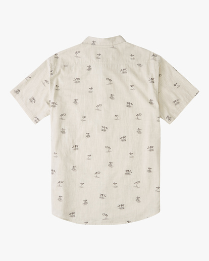 1 Boys' Sundays Mini Short Sleeve Shirt Beige ABBWT00105 Billabong