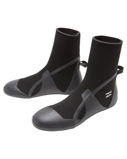 1 Boys' 3mm Absolute Round Toe Wetsuit Boots  ABBWW00103 Billabong