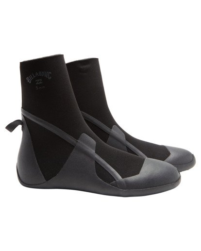 0 Boys' 3mm Absolute Round Toe Wetsuit Boots  ABBWW00103 Billabong