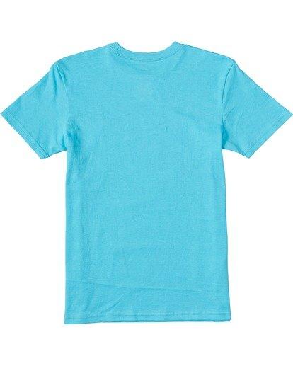 1 Boys' Access Short Sleeve T-Shirt Blue ABBZT00100 Billabong