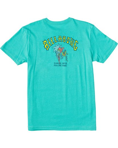 1 Boys' Arch Short Sleeve T-Shirt Grey ABBZT00101 Billabong
