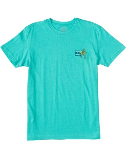 0 Boys' Arch Short Sleeve T-Shirt Grey ABBZT00101 Billabong
