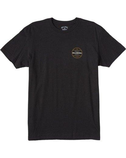 0 Boys' Rotor Short Sleeve T-Shirt Black ABBZT00105 Billabong