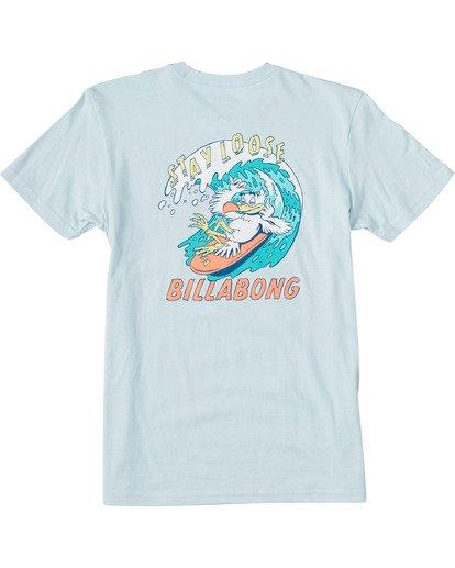 1 Boys' Loose Short Sleeve T-Shirt Blue ABBZT00109 Billabong