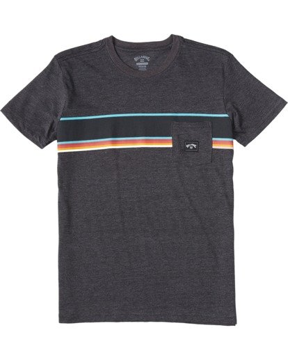 0 Boys' Spinner Pocket T-Shirt Black ABBZT00110 Billabong