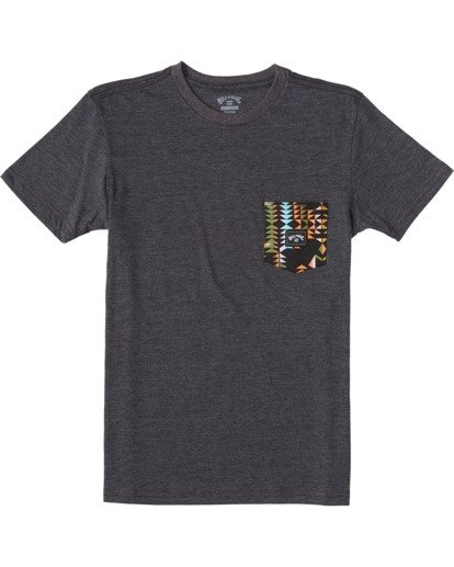 0 Boys' Team Pocket T-Shirt  ABBZT00111 Billabong