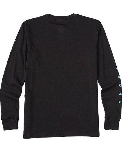1 Boys' Unity Long Sleeve T-Shirt Black ABBZT00113 Billabong