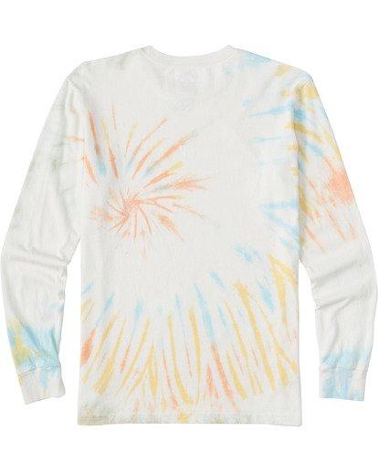 1 Boys' Archwave Tie Dye Long Sleeve T-Shirt  ABBZT00115 Billabong