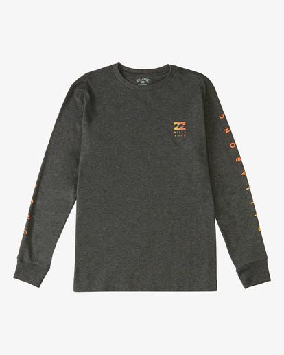 0 Boy's Unity Long Sleeve T-Shirt Black ABBZT00123 Billabong