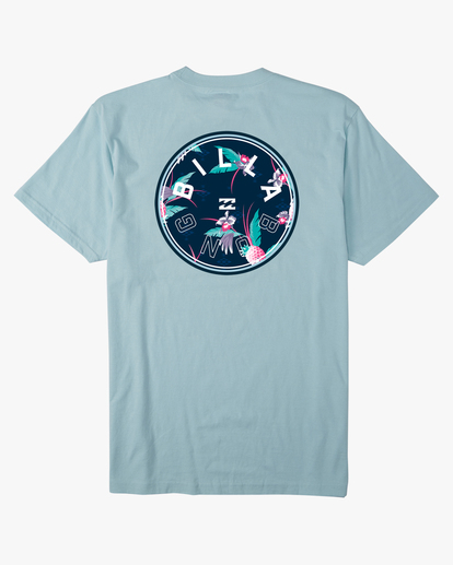 1 Boys' Rotor Short Sleeve T-Shirt Blue ABBZT00125 Billabong