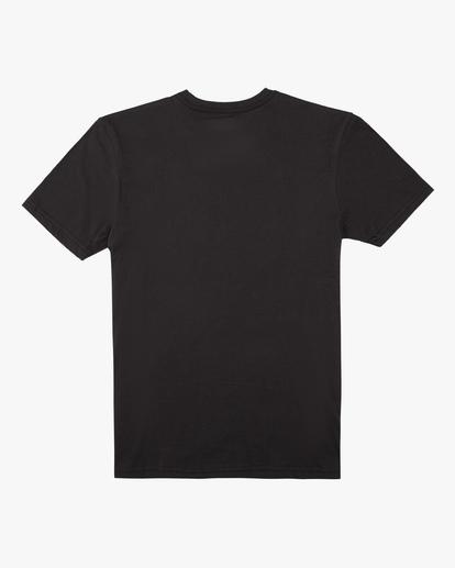1 Boys' Arch Fade Short Sleeve T-Shirt Black ABBZT00134 Billabong