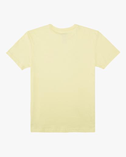 1 Boys' Arch Fade Short Sleeve T-Shirt Yellow ABBZT00134 Billabong