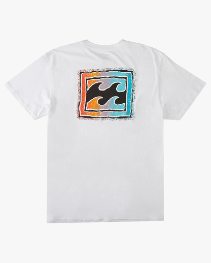 1 Boys' Crayon Wave Short Sleeve T-Shirt  ABBZT00145 Billabong