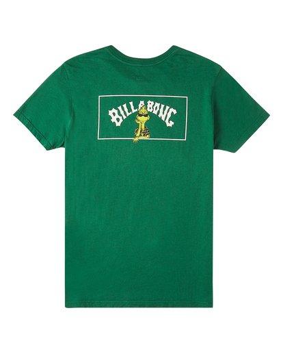 1 Boys' Mahalo Grinch Short Sleeve T-Shirt Grey ABBZT00152 Billabong