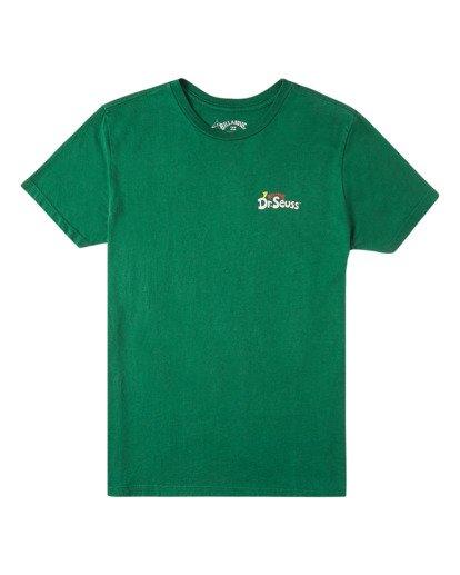 0 Boys' Mahalo Grinch Short Sleeve T-Shirt Grey ABBZT00152 Billabong