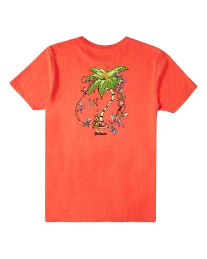 1 Boys' Palm Grinch Short Sleeve T-Shirt Red ABBZT00153 Billabong
