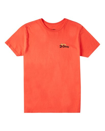 0 Boys' Palm Grinch Short Sleeve T-Shirt Red ABBZT00153 Billabong