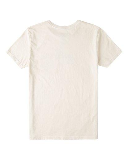 1 Boys' Grinch Stitch Short Sleeve Pocket T-Shirt White ABBZT00154 Billabong