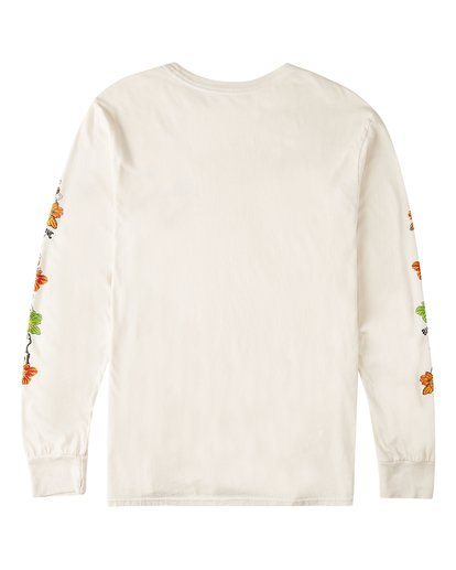 1 Boys' Lei Day Long Sleeve T-Shirt White ABBZT00156 Billabong
