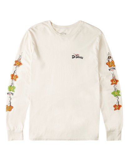 0 Boys' Lei Day Long Sleeve T-Shirt White ABBZT00156 Billabong