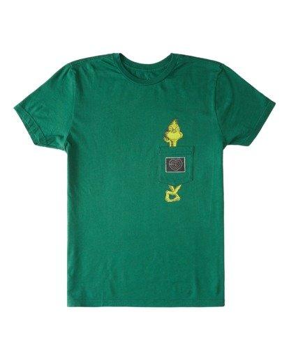 0 Boys' Xray Short Sleeve Pocket T-Shirt  ABBZT00157 Billabong